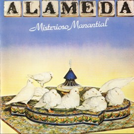 Misterioso Manantial  by ALAMEDA album cover