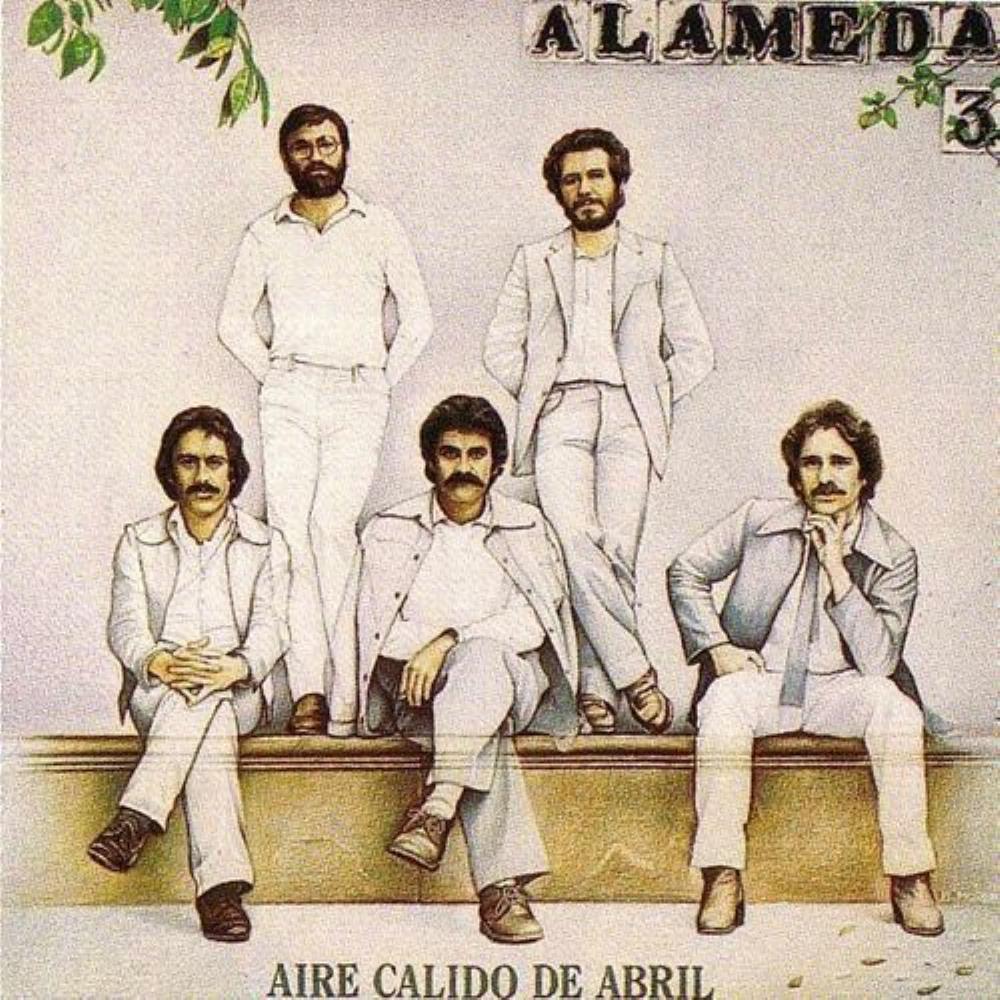 Aire Cálido De Abril by ALAMEDA album cover