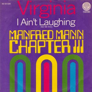 Manfred Mann's Chapter Three Virginia album cover