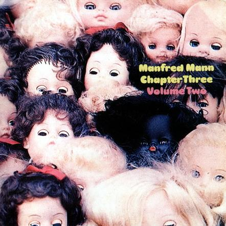 Manfred Mann's Chapter Three - Manfred Mann Chapter Three - Volume 2 CD (album) cover