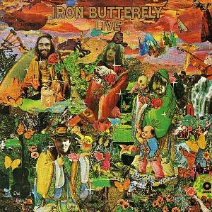 Iron Butterfly Live album cover