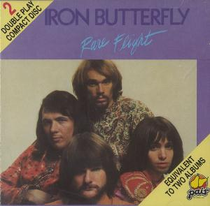 Rare Flight by IRON BUTTERFLY album cover