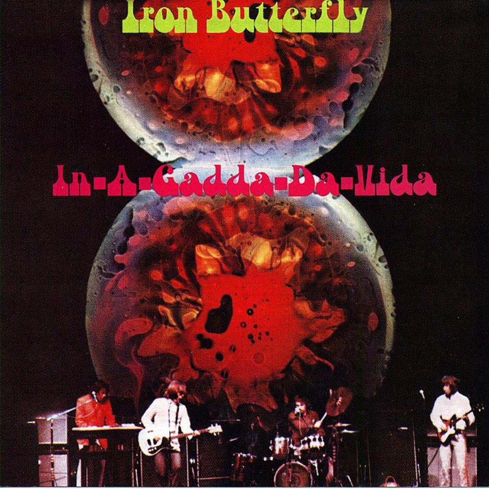 In-A-Gadda-Da-Vida by IRON BUTTERFLY album cover