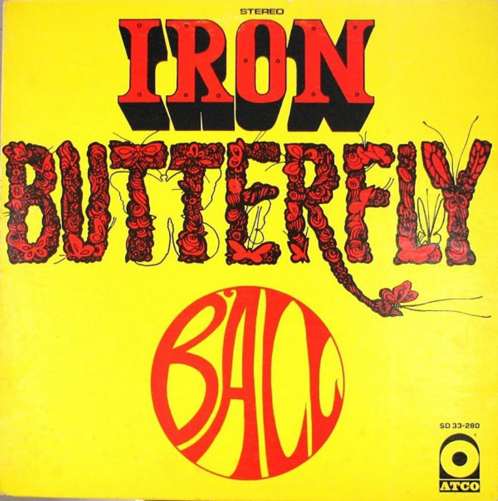 Iron Butterfly - Ball CD (album) cover