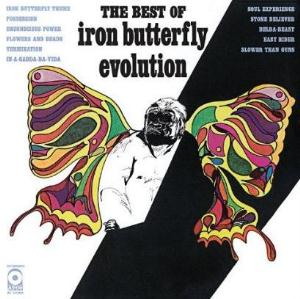 Iron Butterfly Evolution: The Best of Iron Butterfly album cover