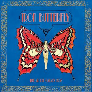 Iron Butterfly Live At The Galaxy 1967 album cover