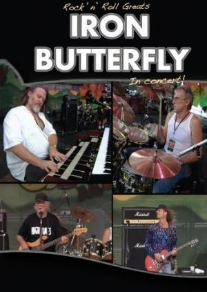 Iron Butterfly Rock 'N' Roll Greats - Iron Butterfly: In Concert! album cover