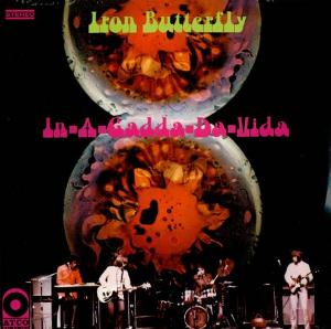 Iron Butterfly - In-A-Gadda-Da-Vida CD (album) cover