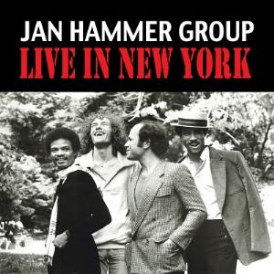 Jan Hammer Live in New York album cover
