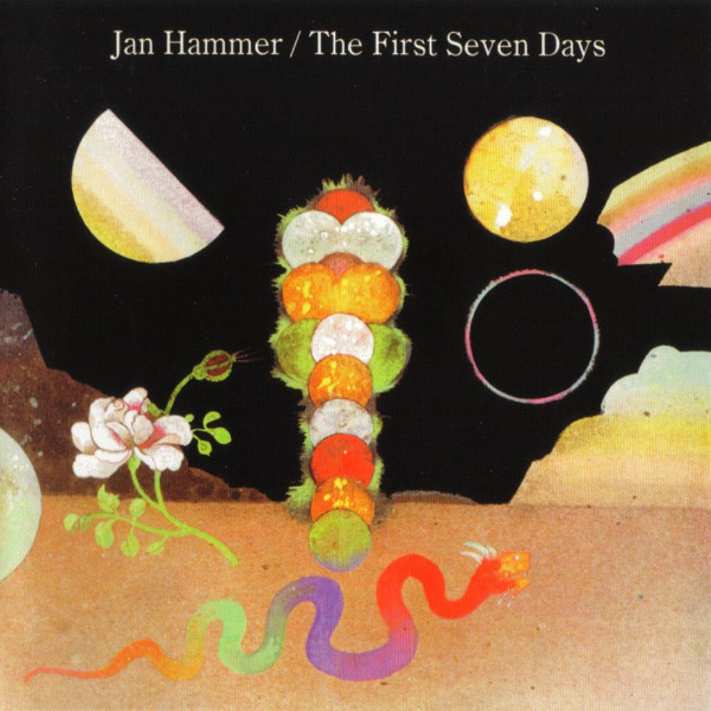 Jan Hammer The First Seven Days album cover