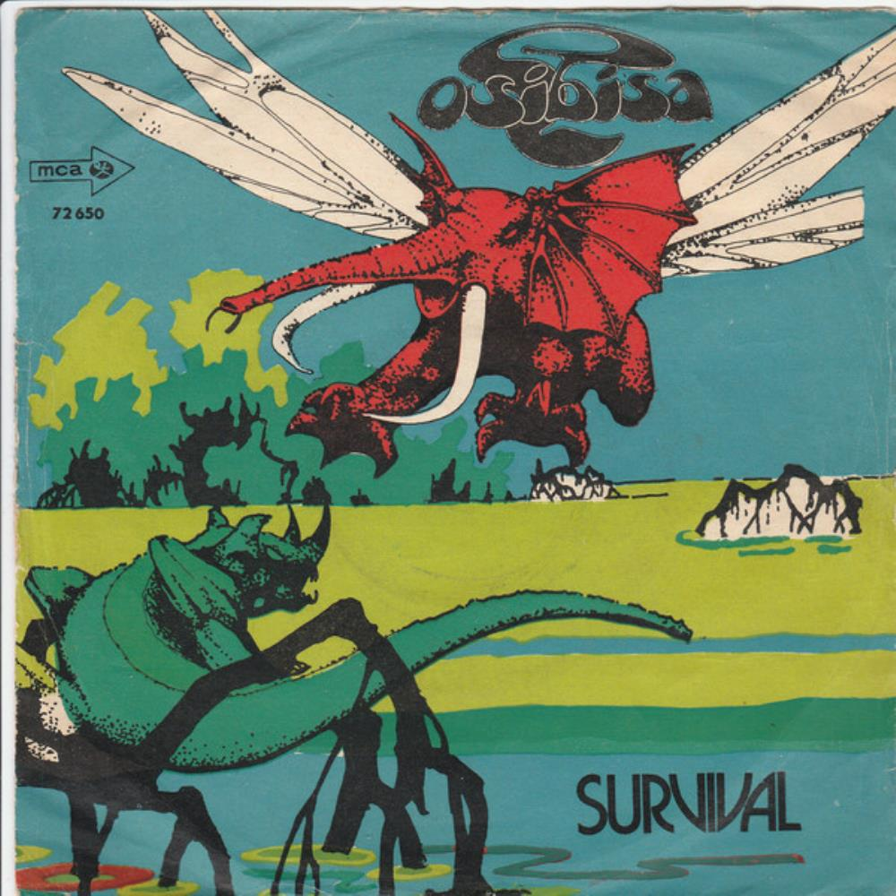 Survival / Think About the People by OSIBISA album cover