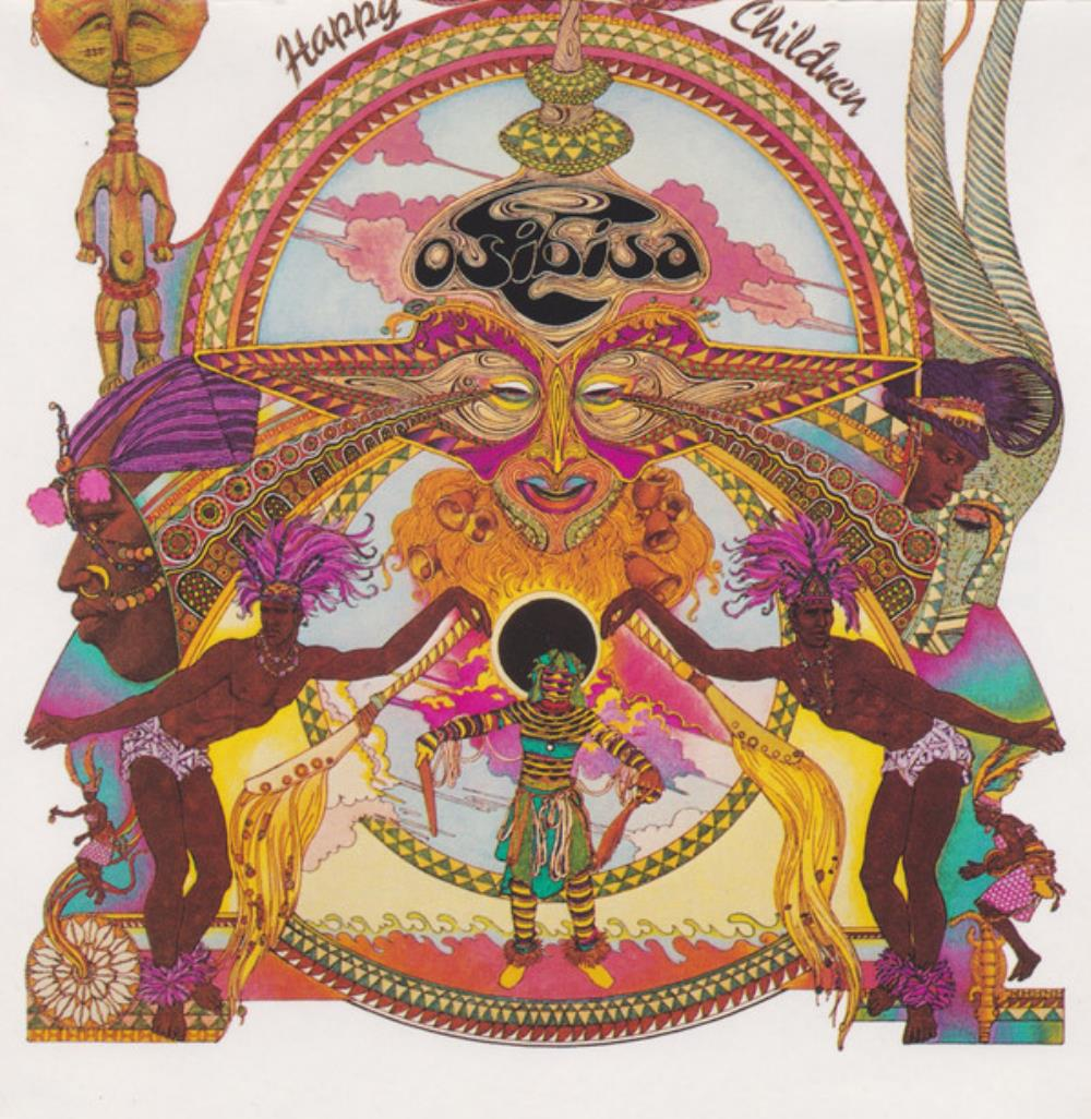 Osibisa Happy Children album cover