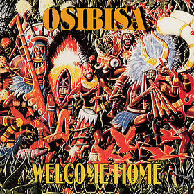 Osibisa - Welcome Home CD (album) cover