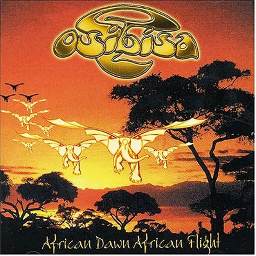 Osibisa African Dawn, African Flight album cover