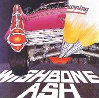 Wishbone Ash Twin Barrels Burning album cover