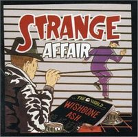 Wishbone Ash Strange Affair  album cover