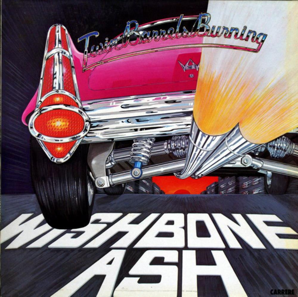 Wishbone Ash - Twin Barrels Burning CD (album) cover