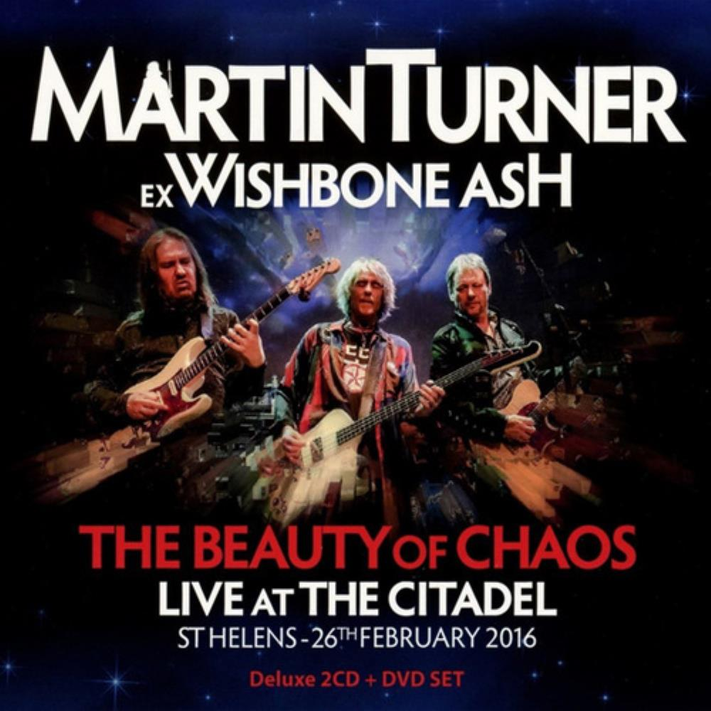 Wishbone Ash Martin Turner ex Wishbone Ash - The Beauty of Chaos: Live at the Citadel album cover