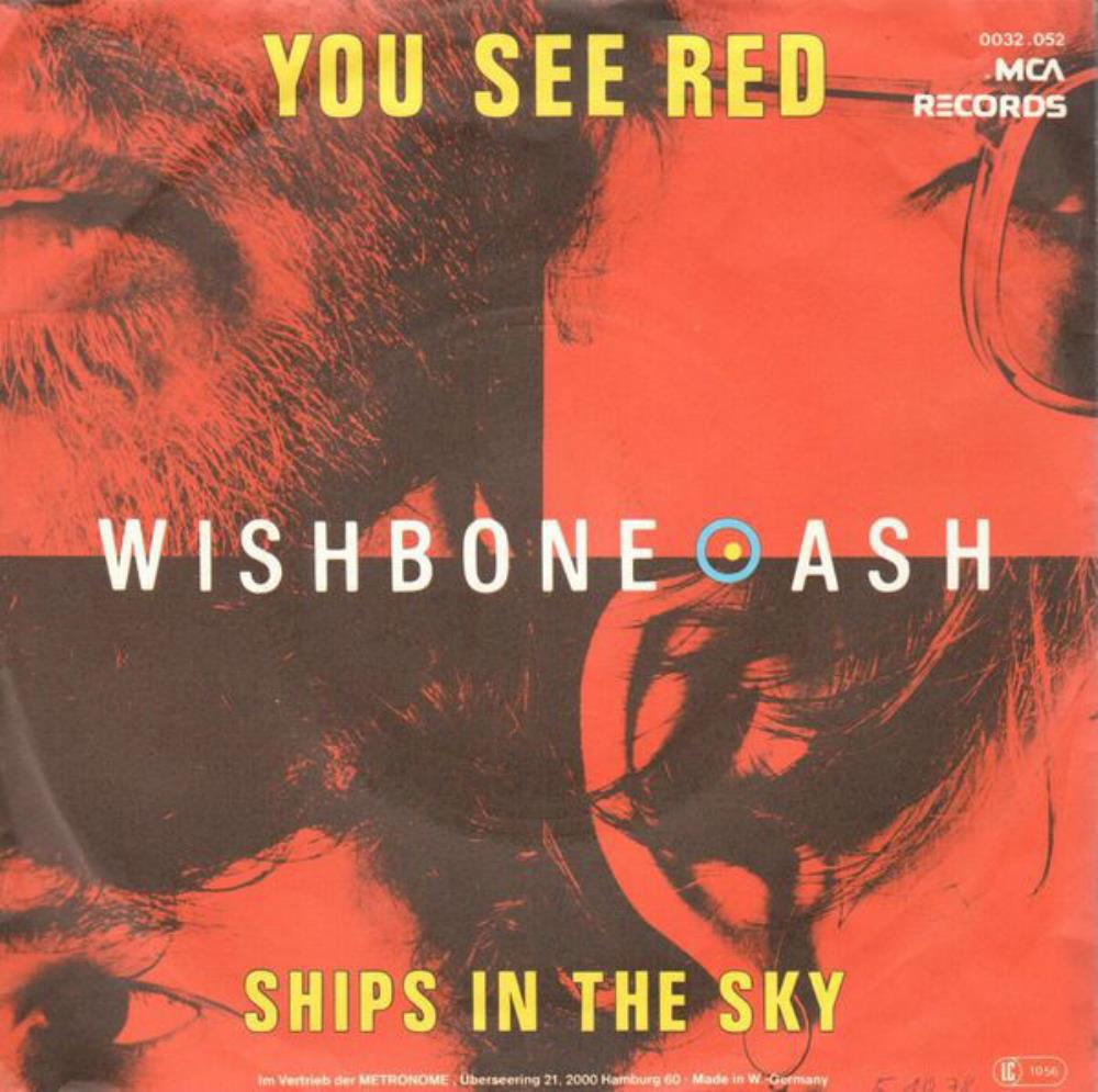 Wishbone Ash You See Red album cover