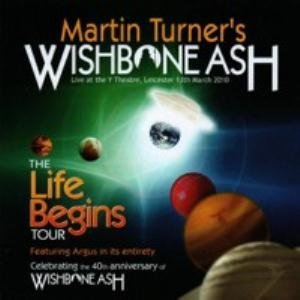 Wishbone Ash The Life Begins Tour album cover