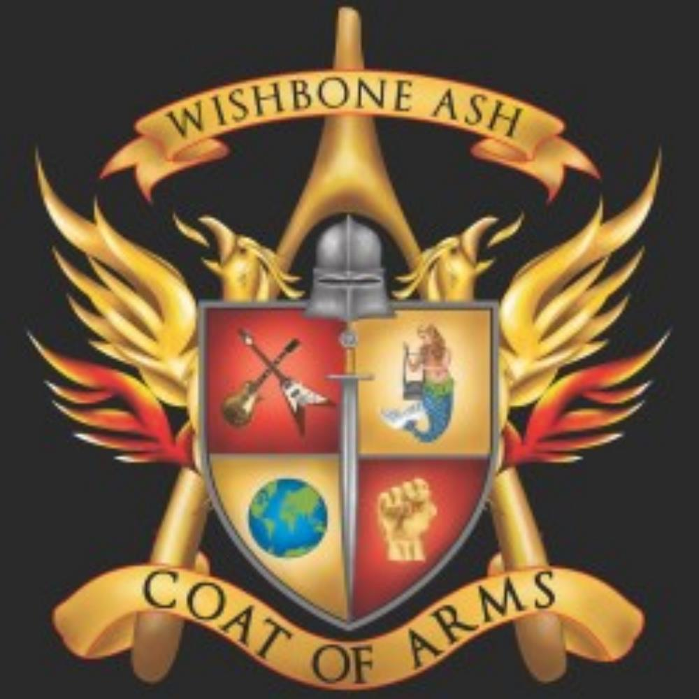 Coat of Arms by WISHBONE ASH album cover