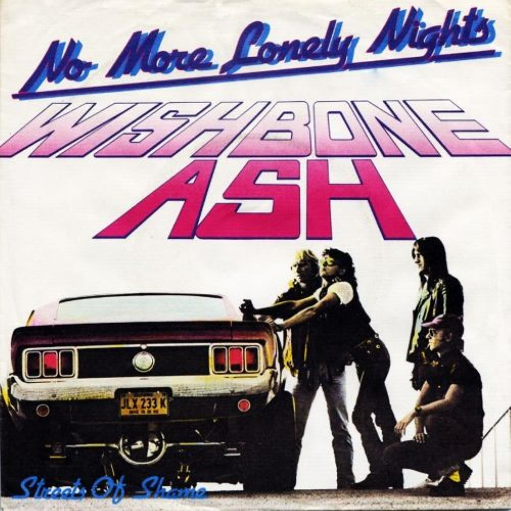 Wishbone Ash No More Lonely Nights album cover