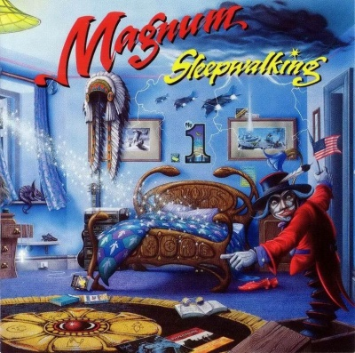 Magnum Sleepwalking album cover