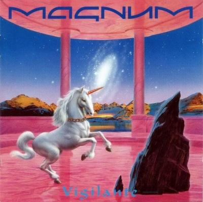 Vigilante by MAGNUM album cover