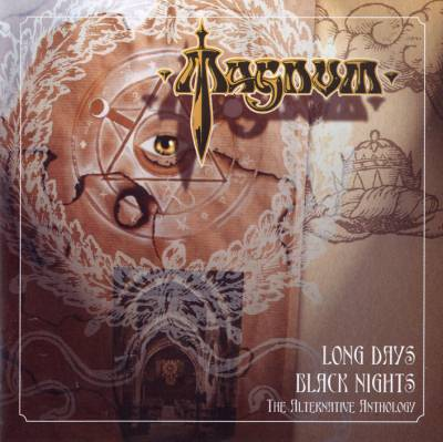 Magnum Long Days Black Nights album cover