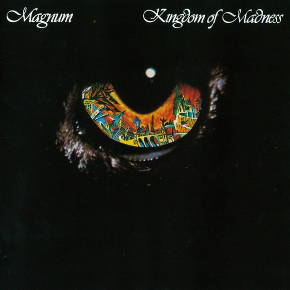Kingdom Of Madness by MAGNUM album cover