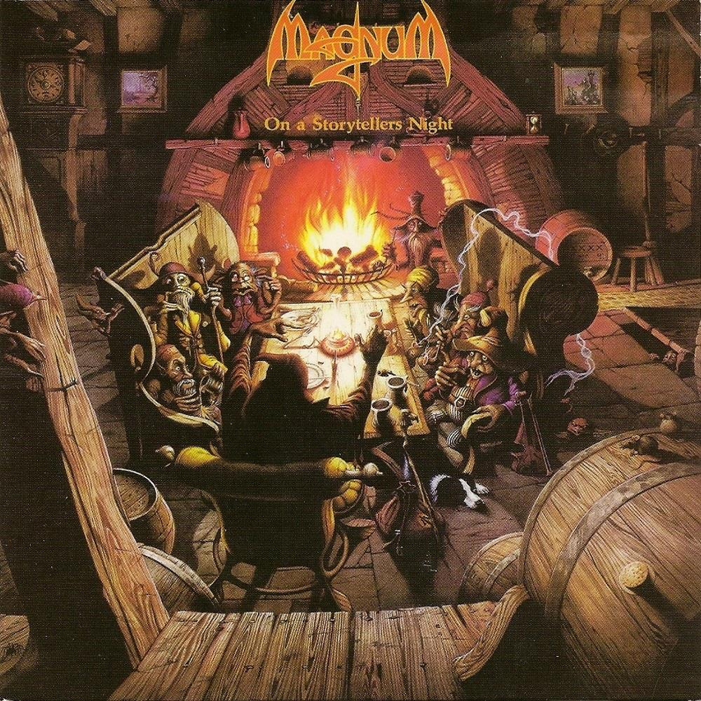 On A Storyteller's Night by MAGNUM album cover