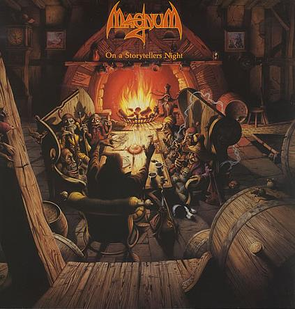 Magnum - On A Storyteller's Night CD (album) cover
