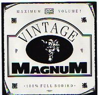 Magnum - Vintage Magnum CD (album) cover
