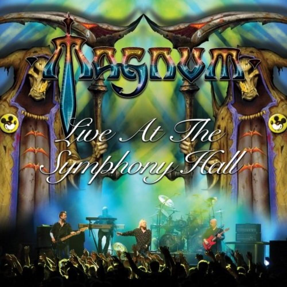 Live At The Symphony Hall by MAGNUM album cover