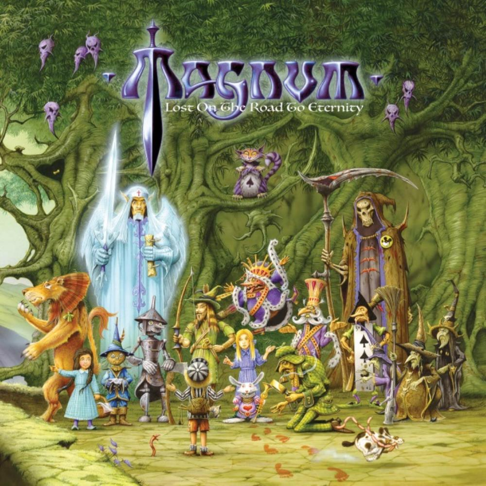 Lost On The Road To Eternity by MAGNUM album cover