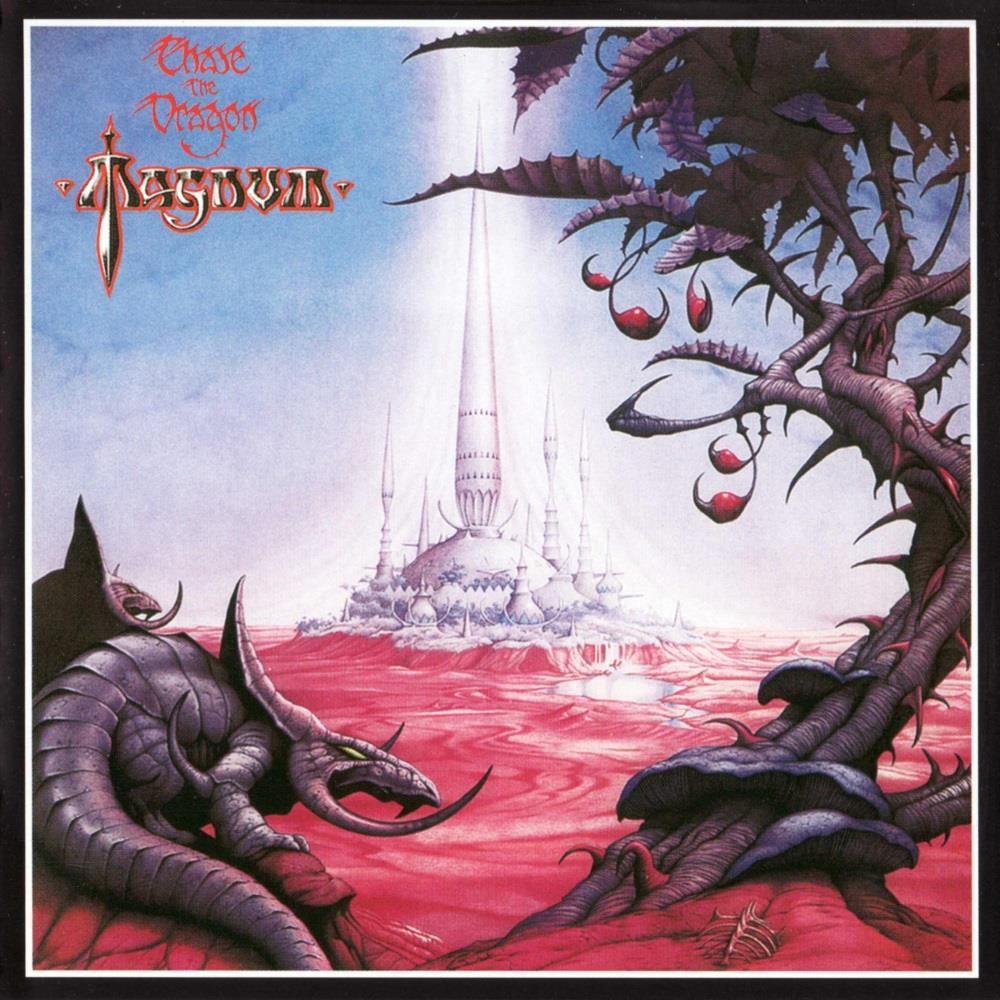 Chase The Dragon by MAGNUM album cover