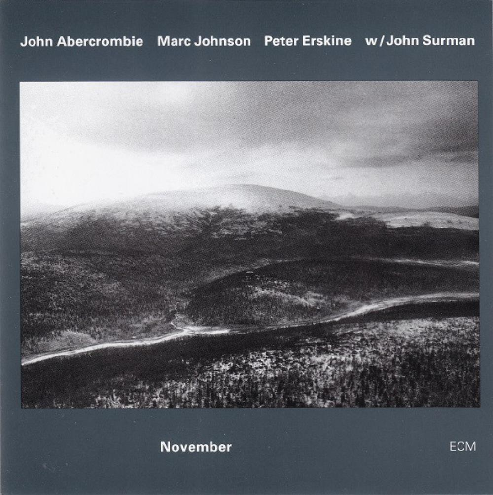 John Abercrombie, Marc Johnson & Peter Erskine : November by ABERCROMBIE, JOHN album cover