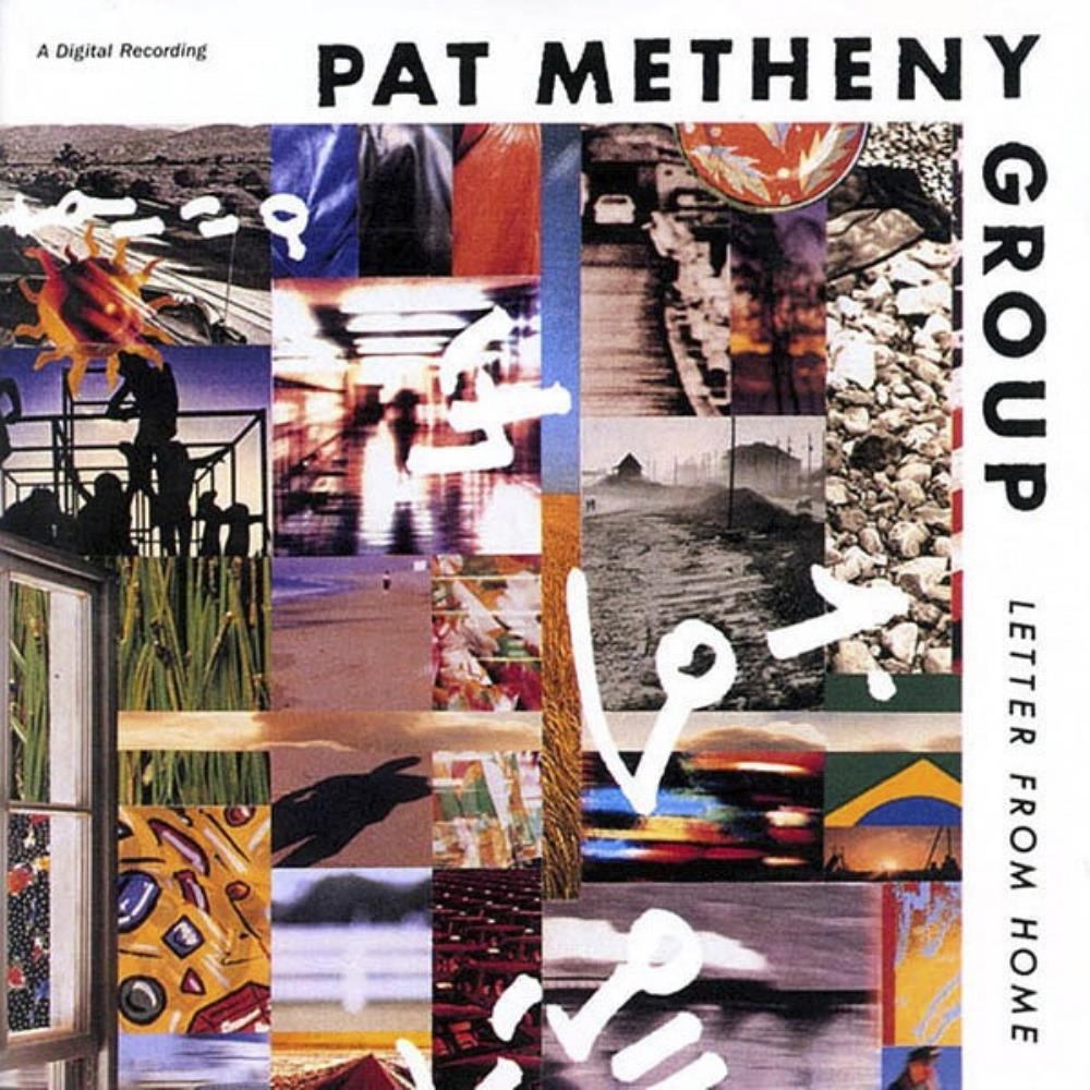 Pat Metheny - Pat Metheny Group: Letter From Home CD (album) cover