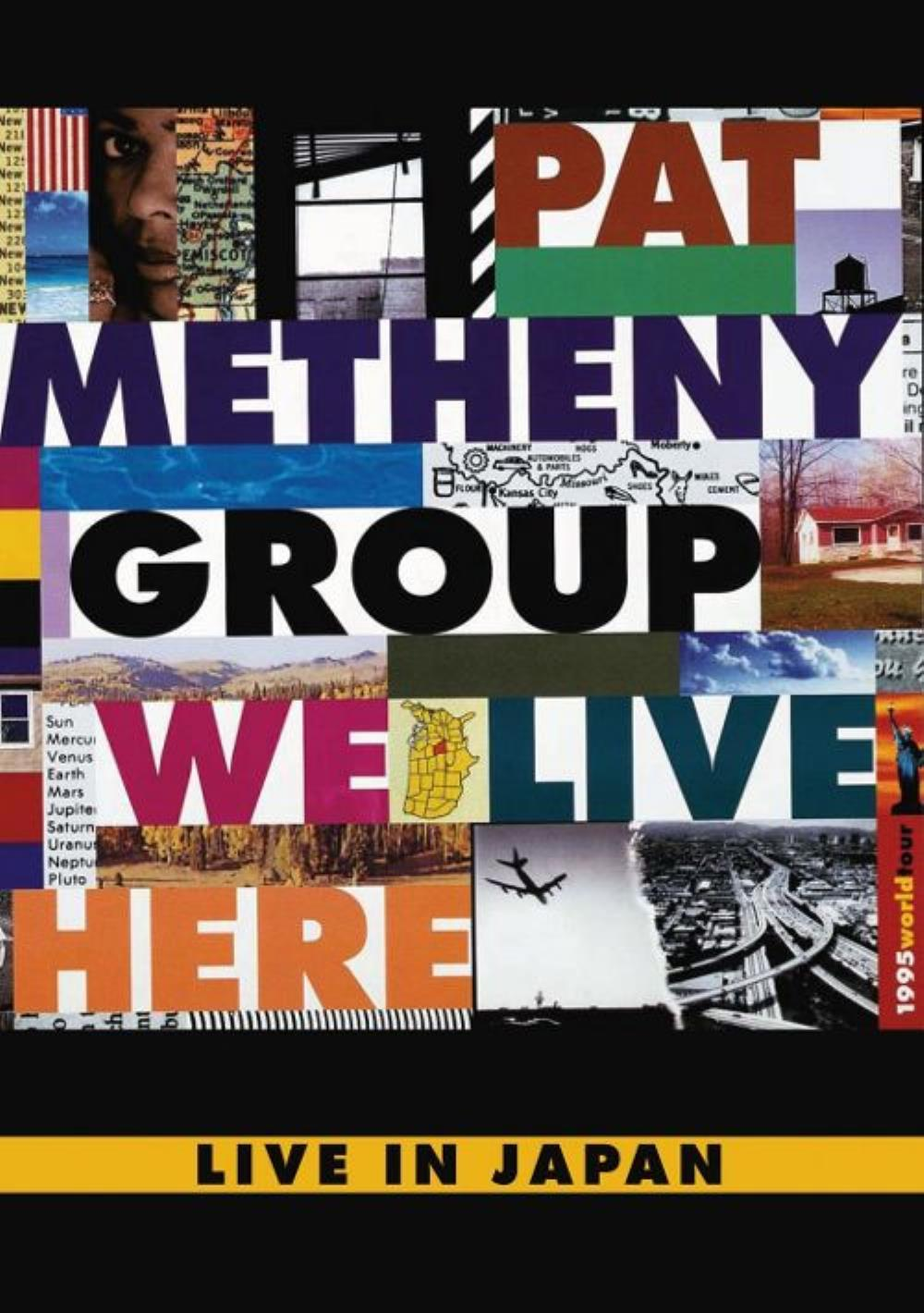 Pat Metheny We Live Here - Live in Japan album cover