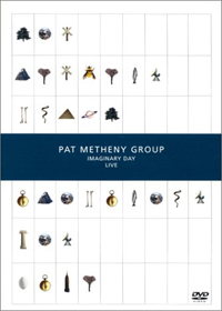 Imaginary Day Live by METHENY , PAT album cover