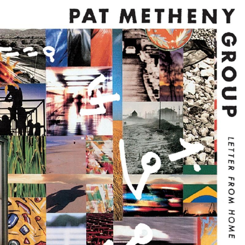 Pat Metheny - Letter From Home (Pat Metheny Group) CD (album) cover