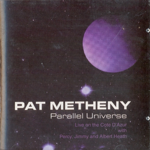 Pat Metheny Parallel Universe album cover