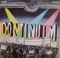 Continuum - Continuum CD (album) cover