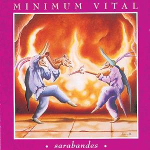 Minimum Vital - Sarabandes  CD (album) cover