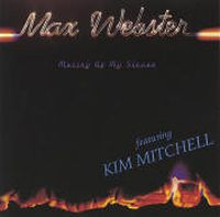Max Webster - Mutiny Up My Sleeve  CD (album) cover