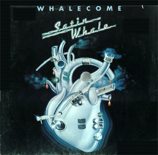 Whalecome by SATIN WHALE album cover