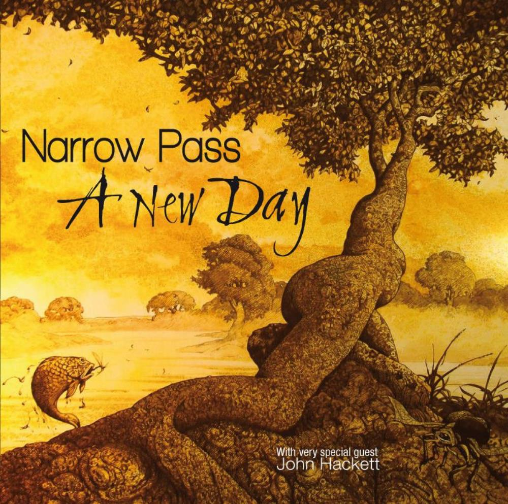 A New Day by NARROW PASS album cover