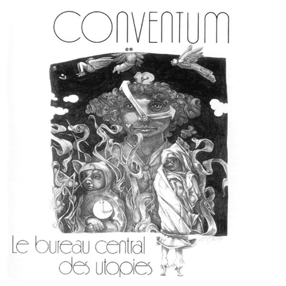 Conventum - Le Bureau Central des Utopies CD (album) cover