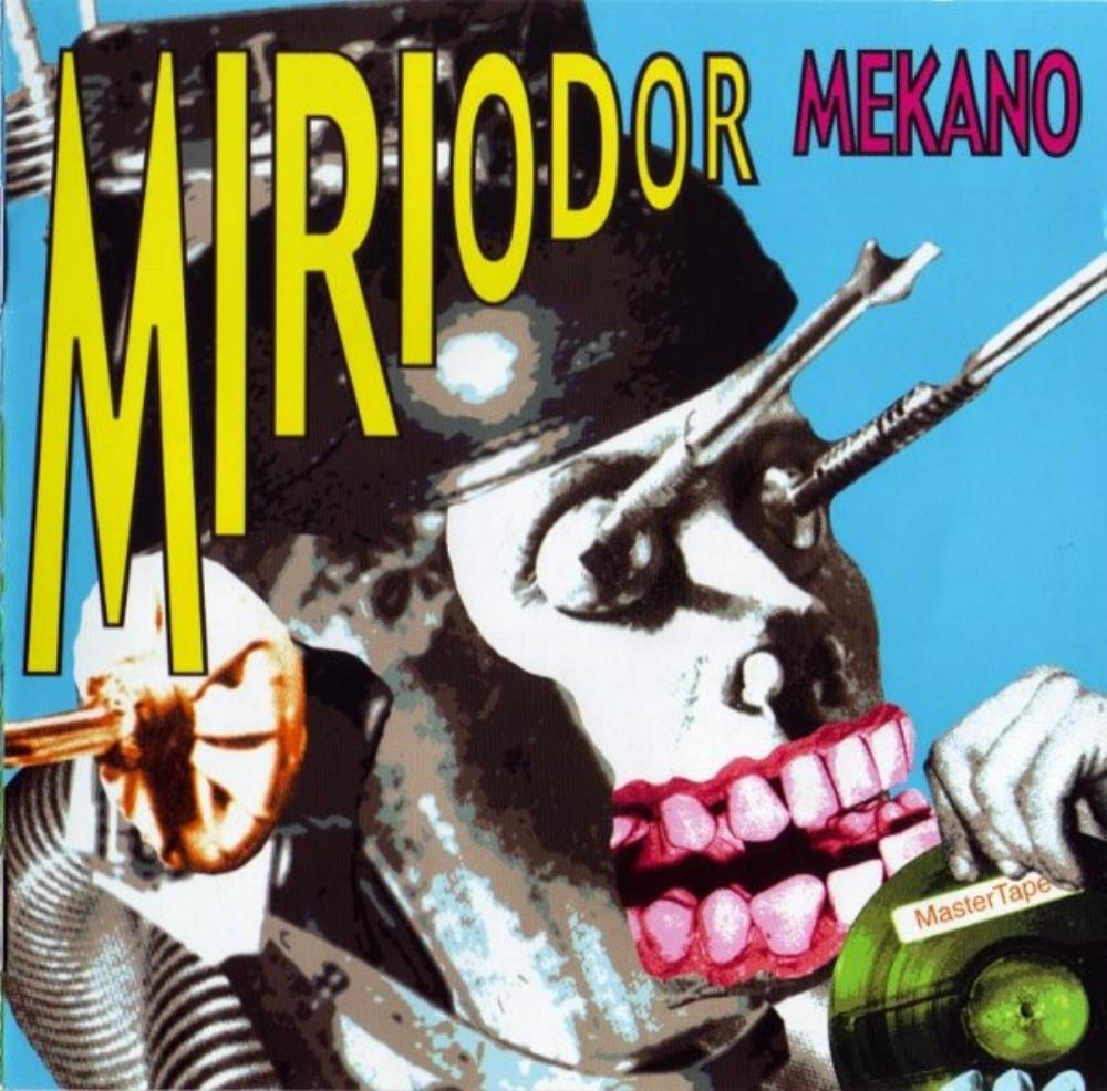 Mekano by MIRIODOR album cover