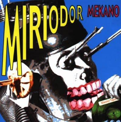 Miriodor - Mekano CD (album) cover